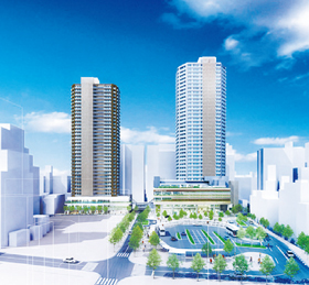 国分寺駅北口再開発ビル