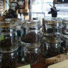 いろんな種類のコーヒー豆