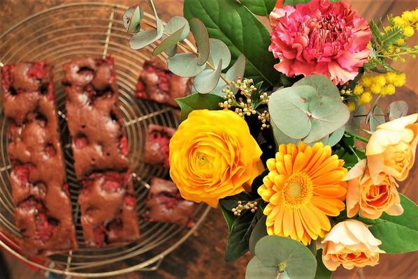 手作りバレンタイン パリスタイルのガトーショコラ