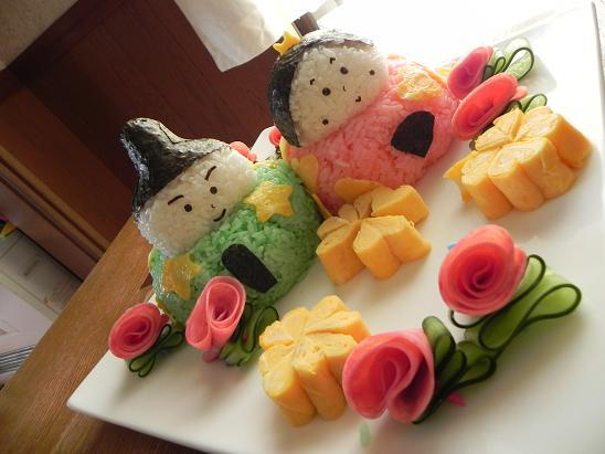 ひな祭りに「しらすと鮭のちらし寿司」