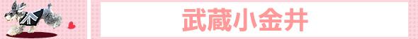 武蔵小金井でワンコOK