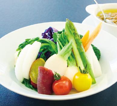 舞岡野菜バーニャカウダ風