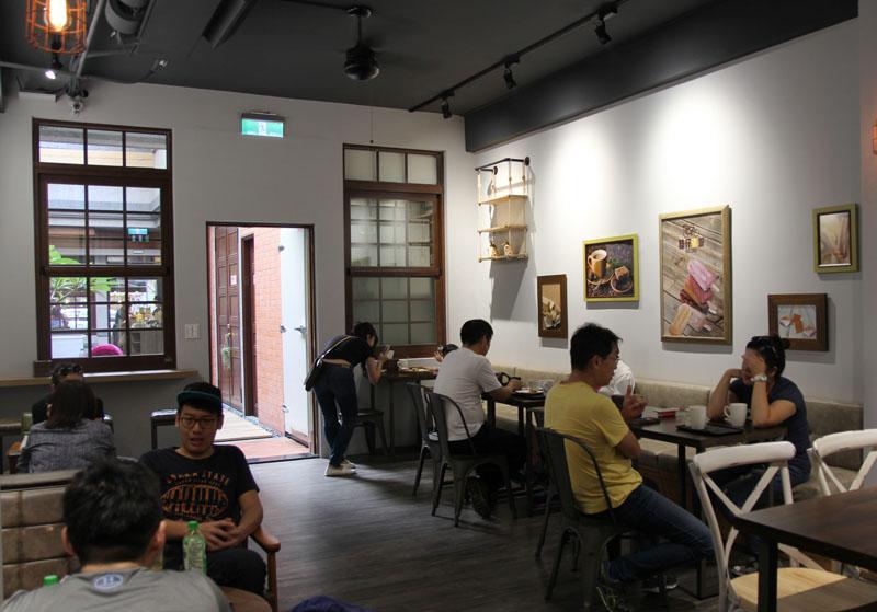 台北・大稻埕のカフェ「枝仔冰城」
