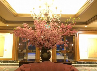 オススメ!お花見アフタヌーン@ホテル椿山荘東京