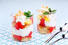 グラスクリームケーキ