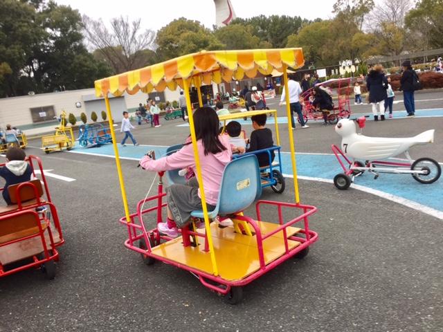万博記念公園のおもしろ自転車ひろばがアツかった。