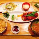 栄スカイルの「お台所ふらり」で釜炊きごはんとバランス定食を!