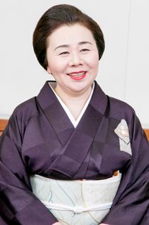 京都のお茶屋女将 武田伊久子さん 写真