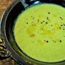 初夏が旬のセロリを使った簡単レシピ 冷やしてもおいしいセロリのポタージュ