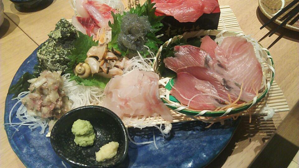 野毛で鮮魚