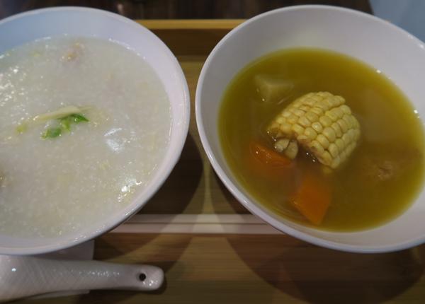 猴頭菇青紅蘿蔔粟米湯