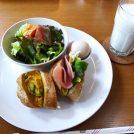 自然食材を使ったメニューが豊富☆吹田「カフェハーシュ」