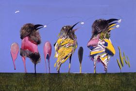 鳥を描く~写実と象徴~