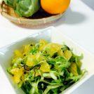 ベジ短レシピ/初夏にぴったり! 春キャベツと甘夏のさっぱりサラダ
