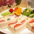 【新宿】朝食におすすめフルーツサンドモーニング880円◆果実園リーベル