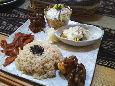 館山の自然の中で、癒しの菜食レストラン発見! わんこもOK
