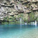 南大隅町の神秘的な滝壺「雄川の滝」