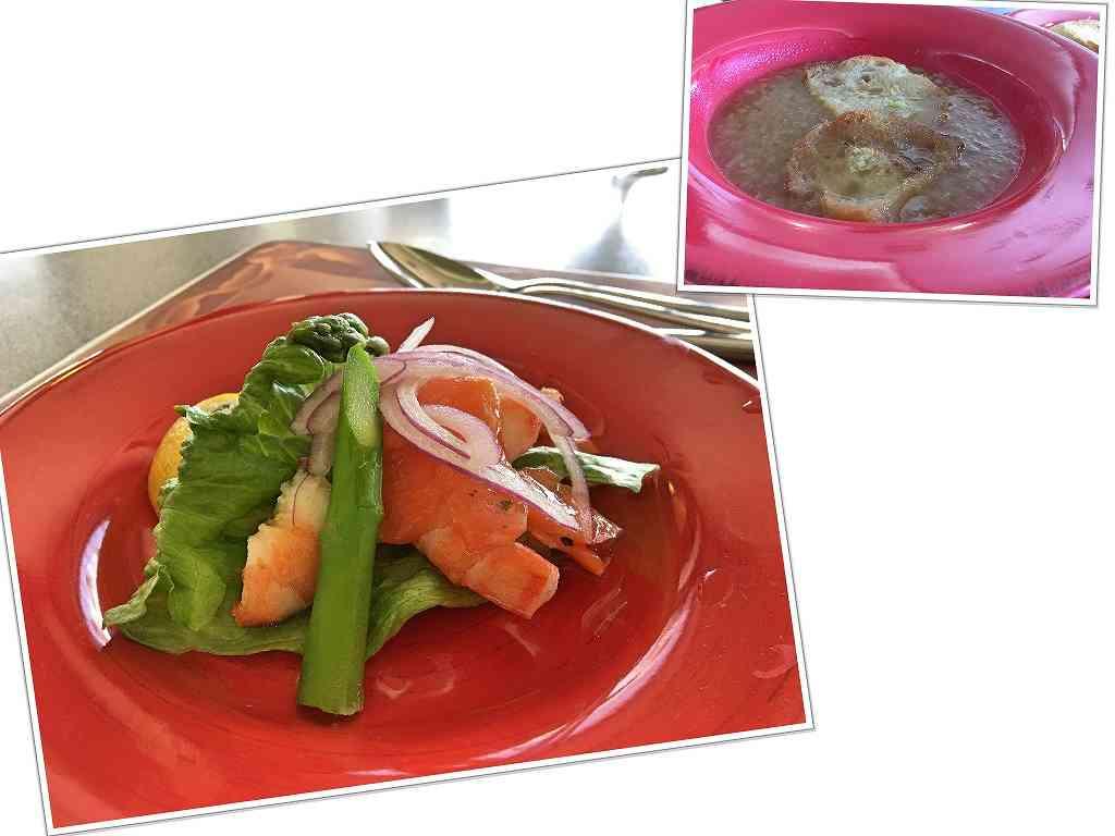 s-前菜とスープ