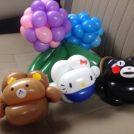 大人も子供も大歓迎!バルーンアートプレゼント。7月22日は、そらのまちほいくえん。