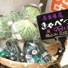 奈良の朝採り野菜がお昼には店頭に!大阪・千林「街ナカ産直」