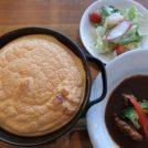 宮原のカフェラウンジ「bekkan」で料理とスイーツ、ライブ音楽を堪能!