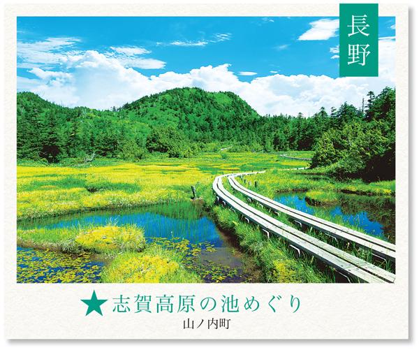 【長野】志賀高原の池めぐり