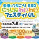 7月8日(土)は「にっしんわいわいフェスティバル」開催。映画の上映も