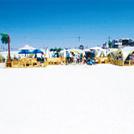 立川に砂浜が出現、「タチヒビーチ」が誕生!