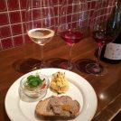 ワイン3種+前菜のsetが得!松屋町「島之内フジマル醸造所」