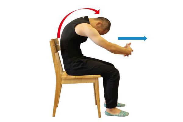 「肩甲骨 ストレッチ」の画像検索結果