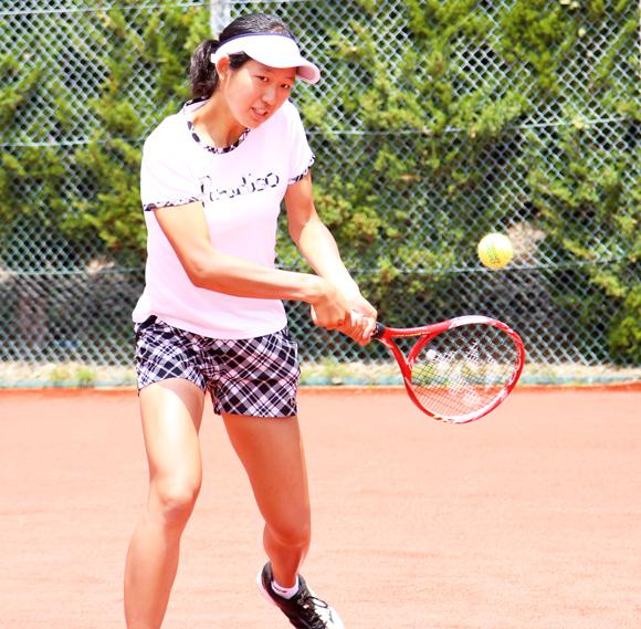 テニス 内島選手