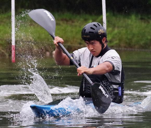カヌー 瀧口選手