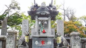 三峰神社の奥宮も参拝