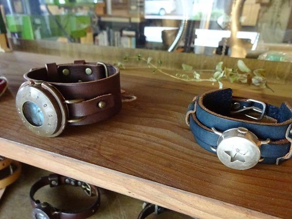 手作り、一点物のこだわりの腕時計を求めて☆箕面「土圭屋」