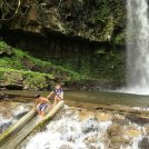夏満喫!!そうめん流し・水遊び・マイナスイオンの神川大滝