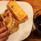三鷹「ベーカリーカフェデリス」のパン食べ放題付きランチを子供と一緒に