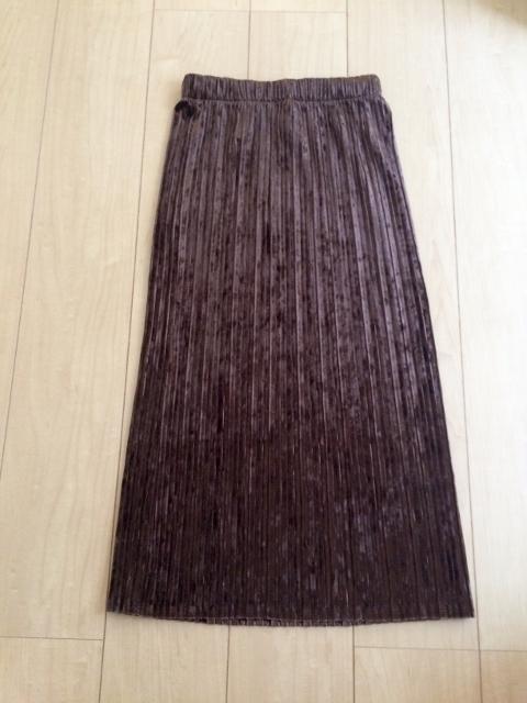 guベロアスカート
