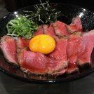 プロレスラーが作る絶品のローストビーフ丼!「キャメルダイナー京橋店」