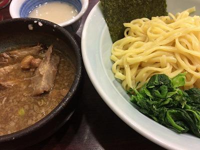 あんこでまろやかな絶品つけ麺!横浜ラーメン増田屋@海浜幕張