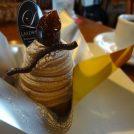 植田の住宅街にある可愛らしいケーキ屋さんで秋のスイーツ・モンブランをいただく!