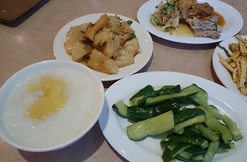 台北・おかゆ横丁の地瓜粥