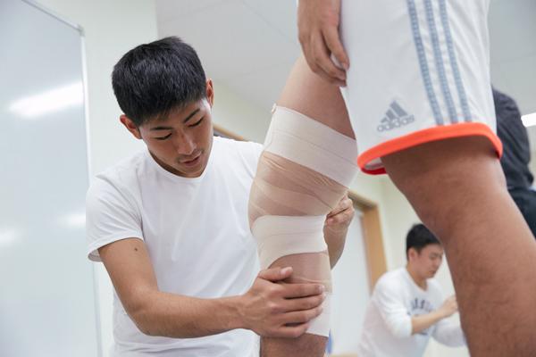 帝京大学医療技術学部スポーツ医療学科健康スポーツコース(八王子市)