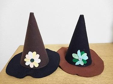 ーフェルトで作る魔女の帽子ー