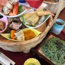 【多賀城市】女子会にも最適!!ちょっぴり贅沢な茶そばランチ。