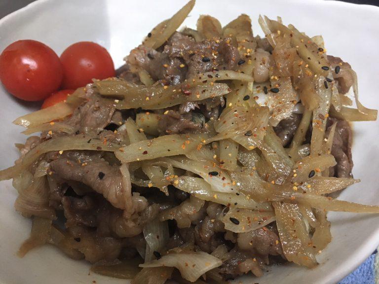 簡単我が家の定番レシピご紹介♪ 牛肉とごぼうの甘辛煮