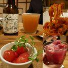 「笹塚」があふれるおしゃれバル「スケッチ」! 桃トマトは絶対食べるべし