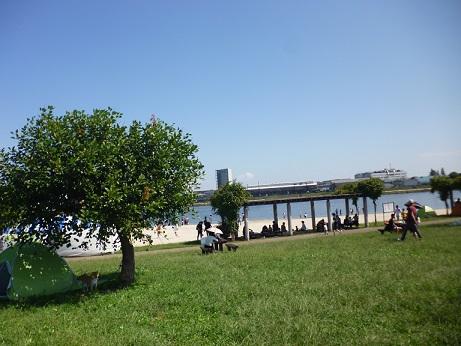 砂浜もローラー滑り台もある「大森ふるさとの浜辺公園」10/29はイベントも!