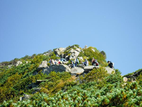 ①俎嵓山頂2346mまではもうすぐ