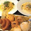 薪窯のイタリアンと焼きたてパン食べ放題が人気!豊中「ロッソ」