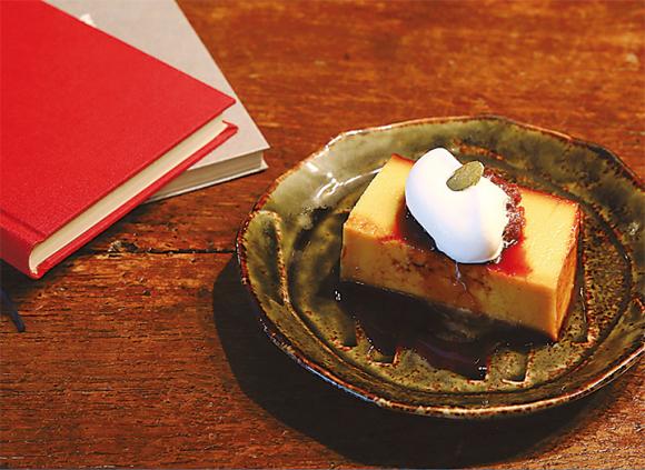 胡桃堂喫茶店 かぼちゃプリン